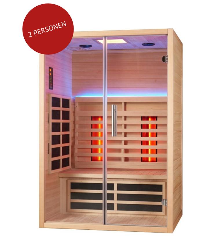 infrarood sauna SUMUM DUAE